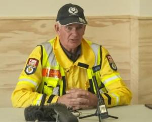Rob Hands has been in charge of the fire scene in the Mackenzie Basin. Photo: RNZ