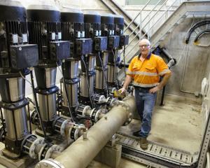 Ward Jones, of MacNeil Jones Pumps, says water infrastructure needs to be looked after and...