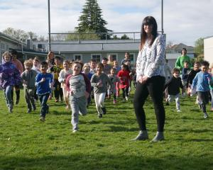Pine Hill School principal Melissa Ward is excited the school is growing from two classrooms to...