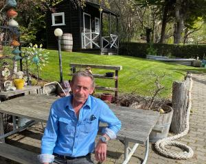 Ex-smoker Murray Moore manages to be creative in his house and garden, despite battling the...