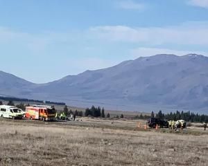Emergency services were alerted to the crash about 9am on Saturday. Photo: Supplied