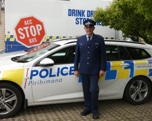 Senior Constable Alastair Crosland marked his last day in uniform yesterday but his involvement...