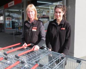 Supervalue Roxburgh co-owner Cath Toms (left) is worried about the impact on business and on...