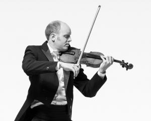 Auckland Philharmonia Orchestra concertmaster Andrew Beer. Photo: supplied