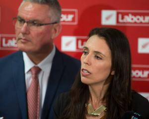 Prime Minister Jacinda Ardern and deputy leader Kelvin Davis. Photo: NZ Herald