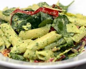 Arthur Barnett Cafe's pasta salad