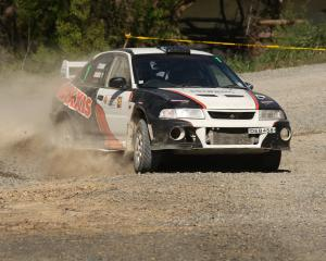Carter Strang of Wallacetown, gained his second successive victory in the Rankleburn Rally in...