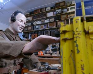 A new World War 2 radio operator display graces the Tuapeka Vintage Club Museum, in time for...
