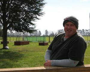 Canterbury dairy farmer Chris Ford. Photo: RNZ