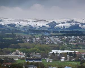 Balclutha residents woke on September 29 to views of the snowcapped Kaihiku Ranges south of...
