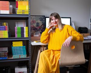 Mandy Myles, of Wanaka, was inspired to create an online bookstore during lockdown. PHOTO: JASON...