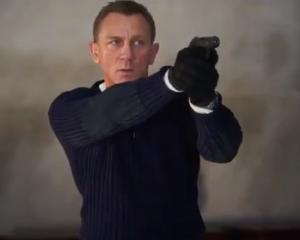Daniel Craig as James Bond. Photo: Twitter/@007