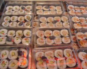 Fresh sushi packed with lots of favourites