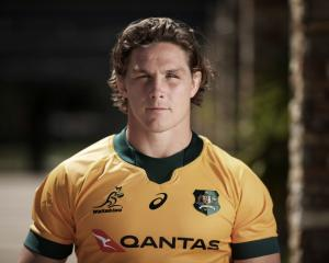 Michael Hooper will become the 12th Australian to reach a century of caps for the Wallabies at...