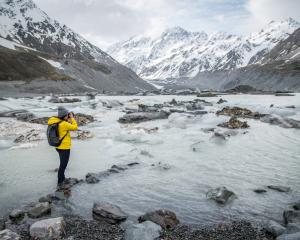 Hooker glacier in Aoraki Mount Cook National Park. Photo: Getty Images