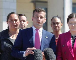 Act Party leader David Seymour in Tauranga today. Photo: George Novak / NZH