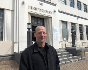 Southland farmer David John Wilson is relieved after his sentencing in the Invercargill District...