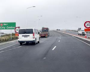 The Southern Motorway on-ramp. Photo: Geoff Sloan