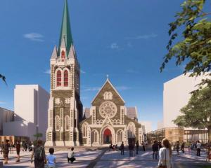 This is what the new Christ Church Cathedral, devastated in the February 22, 2011, earthquake,...
