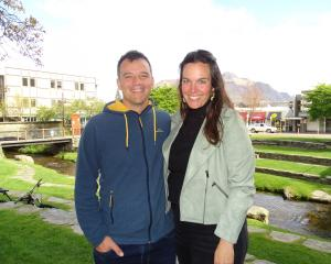 Newly elected Southland MP Joseph Mooney arrived back in Queenstown with his wife, Silvia, after...