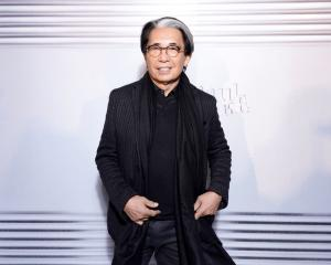 Kenzo Takada attends the Jean-Paul Gaultier 50th Birthday Cocktail and Party in January this year...