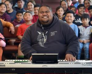 Gospel singer Lani Alo at the Congregational Samoan Church, EFKS Dunedin, in Macandrew Rd,...
