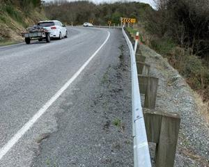 The shoulder of part of SH8 in the Manuka Gorge is due to be repaired, starting next week. PHOTOS...