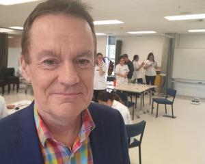Mark Oldershaw, chief executive of Weltec and Whitireia Polytechnic Photo: RNZ