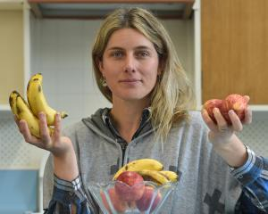 Associate Prof Miranda Mirosa considers how to reduce food waste. PHOTO: GREGOR RICHARDSON