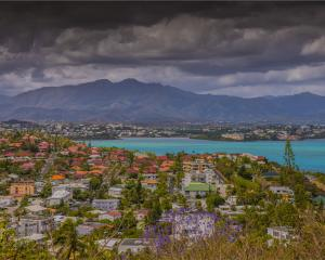 A scenic overview of the Bay De Magenta, Noumea, New Caledonia. Photo: Getty Images