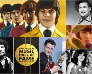 NZ Music Hall of Fame inductees 2020 Photo: Supplied