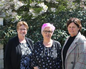 North Otago women (from left) Sue Fraser, Raelene Guthrie and Belinda Spivey have set up a...