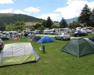 Queenstown Lakeview Holiday Park. Photo by James Beech.