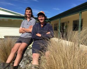 Telford campus mates Cody Craw, of Coromandel, and Harrison Major, of Whanganui. PHOTO: MARY-JO...