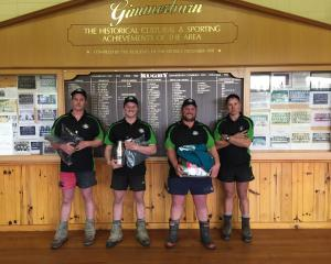 Going forward to represent Otago in the FMG Young Farmer of the Year regional finals in March are...