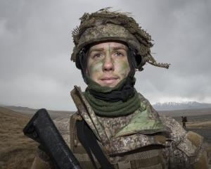 New Zealand Army reservist Rebecca McNaughton is enjoying the challenge of having twin careers,...