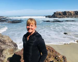 The beautiful coastline around Dunedin is a happy place for jobseeker Willa Faber. PHOTO: SUPPLIED