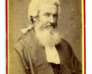 Thomas Bannatyne Gillies. PHOTO: COLLECTION OF TOITU OTAGO SETTLERS MUSEUM