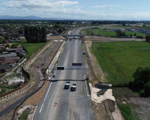The Christchurch Northern Corridor. Photo: Newsline