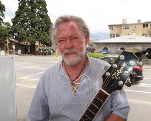 Noel Coutts will play his song, 29 Ghosts, at today's Pike River commemoration.