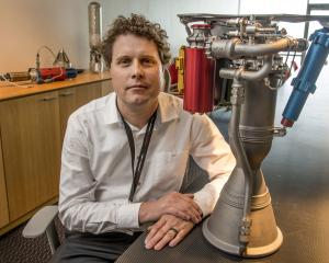Rocket Lab chief exeuctive Peter Beck. Photo: Reuters
