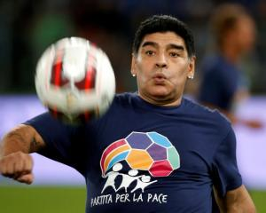 Diego Maradona. Photo: Reuters