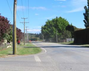 A structure plan for Racecourse Road development has been sent to landowners. Photo: Ashburton...