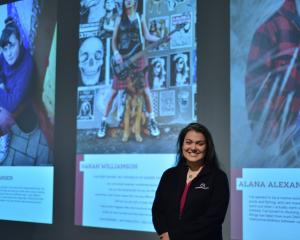 Jessa Barder, science engagement co-ordinator, Otago Musuem. PHOTO: SUPPLIED