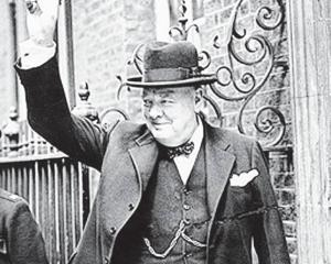 Former British prime minister Winston Churchill. PHOTO: IMPERIAL WAR MUSEUM COLLECTIONS