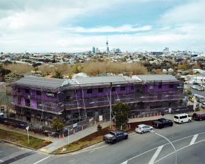 When completed early next year, this Auckland co-housing development will provide residents...