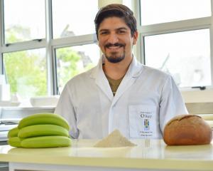Amir Amini has developed a bread  using green banana flour. PHOTO: SUPPLIED