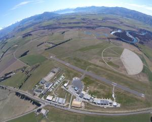 Wanaka Airport, which could be turned into a jet airport. PHOTO: SUPPLIED