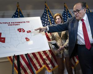 Donald Trump's lawyer Rudy Giuliani. Photo: Getty Images