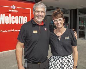Glenn and Tracy Anderson.  Photo: Geoff Sloan